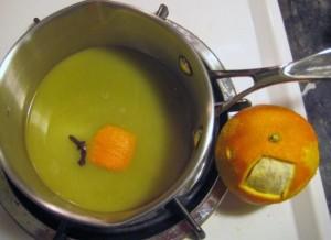 spice cake orange sauce