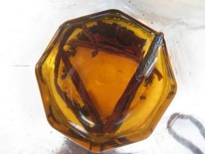 inside jar