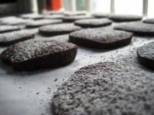 chocolate black pepper cookies