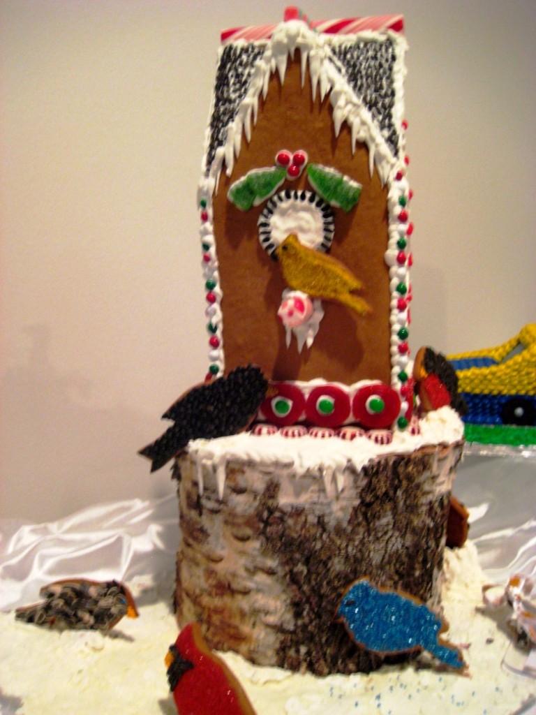 Gingergread Bird House