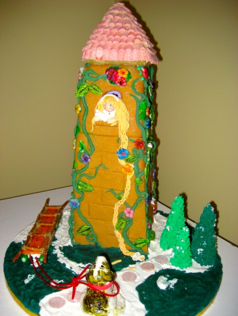 Fairy Tale Gingerbread House Rapunzel