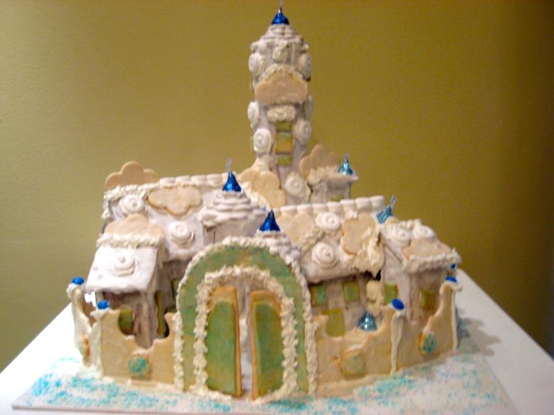 Sleeping Beauty's Gingerbread Castle
