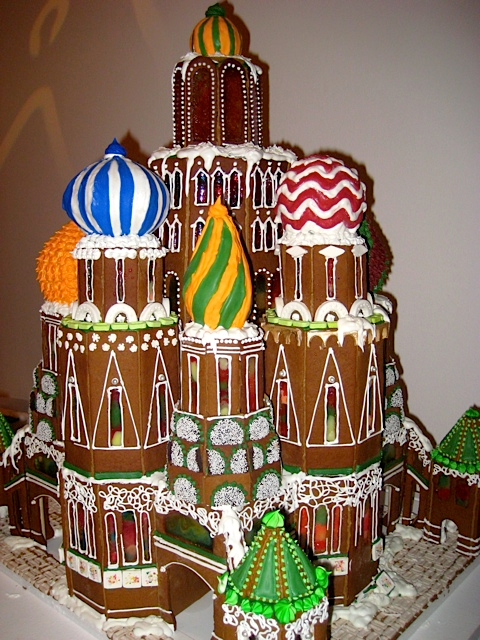 St. Basil's gingerbread cathedral